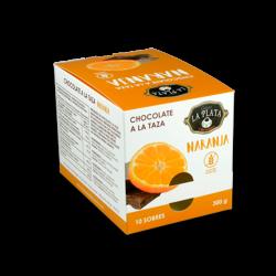 Chocolate a la Taza Naranja